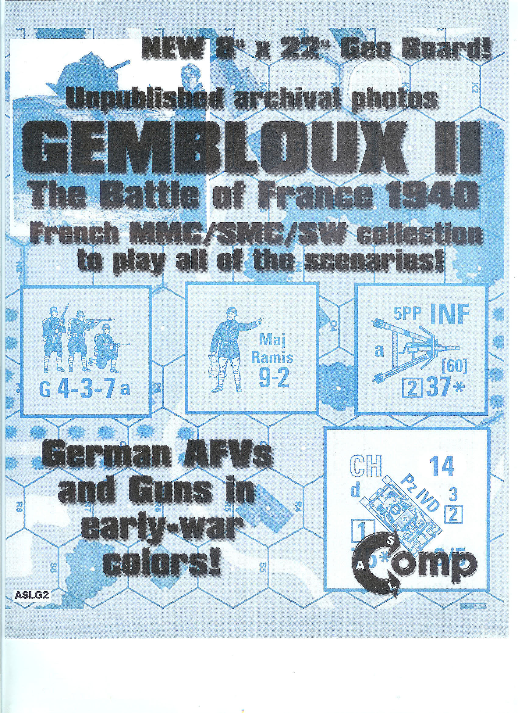 Gembloux II with CH1 map